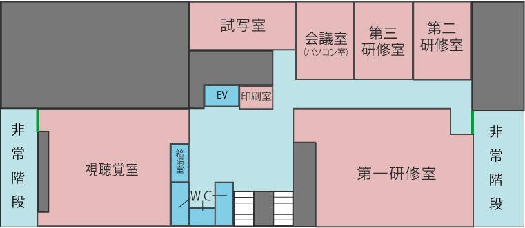 地下1階フロア図